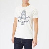 Polo Ralph Lauren Men's Lion Logo T-Shirt - Deckwash White - XS - White