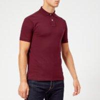 Polo Ralph Lauren Men's Short Sleeve Slim Fit Polo Shirt - Classic Wine - XL