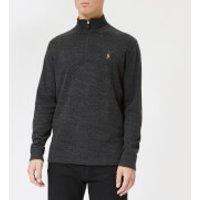 Polo Ralph Lauren Men's Long Sleeve Knit Top - Black Marl Heather - XL - Grey