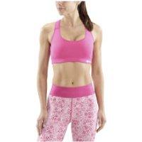 Skins DNAmic Flux Sports Bra - Pink - XS - Pink