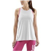 Skins Women's Siken Sports Tank Top - Silver Marle - L - Grey