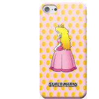 Nintendo Super Mario Princess Peach Peeking Smartphone Hülle - Samsung S6 - Snap Hülle Glänzend