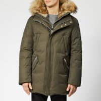 Mackage Men's Edward Fur Hood Down Jacket - Army Natural - US 42/M - Green