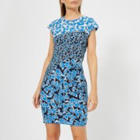 Whistles Women's Jocelyn Cordilla Print Bodycon Dress - Navy/Multi - UK 10 - Navy/Multi