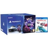 Sony Playstation VR Starter Kit including Playstation Worlds & WipEout: Omega Collection