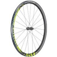 Token RoubX Prime Disc Carbon Tubeless Ready Neon Gravel Wheelset - Shimano