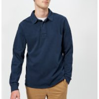 Joules Men's Parkside Rugby Shirt - French Navy - L - Navy