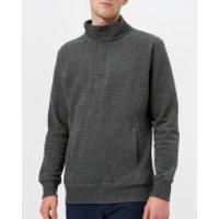 Joules Men's Oakhurst Funnel Neck Sweatshirt - Charcoal Marl - S - Grey