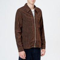 Our Legacy Men's Drip Corduroy Shirt - Brown - L/EU 50 - Brown