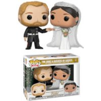 Royal Family Meghan Markle and Prince Harry 2-Pack Pop! Vinyl - Family Gifts