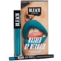 BLEACH LONDON Lip Kit Washed Up Mermaid