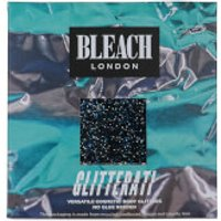 BLEACH LONDON Glitter Ati Text Me Black