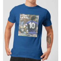 Shoot! Platini Le Roi Men's T-Shirt - Royal Blue - XL - Royal Blue