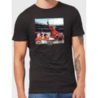 Shoot! England Men's T-Shirt - Black - XXL - Black - England Gifts