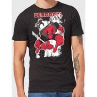 Marvel Deadpool Max Men's T-Shirt - Black - 5XL - Black