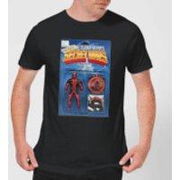 Marvel Deadpool Secret Wars Action Figure Men's T-Shirt - Black - XXL - Black - Action Gifts