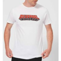Marvel Deadpool Logo Men's T-Shirt - White - L - White