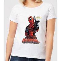 Marvel Deadpool Hey You Women's T-Shirt - White - XXL - White