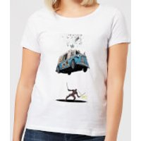 Marvel Deadpool Ice Cream Women's T-Shirt - White - XS - White