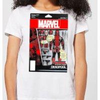 Marvel Deadpool Action Figure Women's T-Shirt - White - XL - White