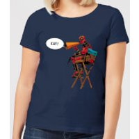 Marvel Deadpool Director Cut Women's T-Shirt - Navy - M - Navy