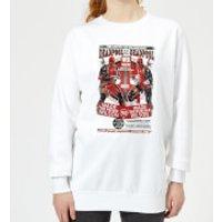 Marvel Deadpool Kills Deadpool Women's Sweatshirt - White - M - White