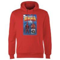 Marvel Deadpool Secret Wars Action Figure Hoodie - Red - L - Red