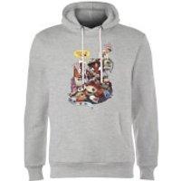 Marvel Deadpool Merchandise Royalties Hoodie - Grey - M - Grey - Marvel Gifts