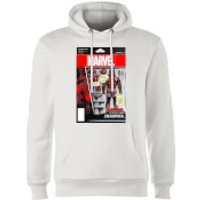 Marvel Deadpool Action Figure Hoodie - White - S - White