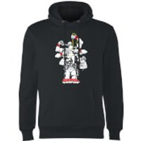 Marvel Deadpool Multitasking Hoodie - Black - XL - Black - Deadpool Gifts