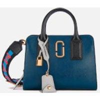 shop for Marc Jacobs Women's Little Big Shot Tote Bag - Blue Sea/Multi at Shopo