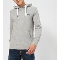 Superdry Men's Orange Label Lite Hoody - Iced Grey Grit - S - Grey