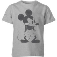 Disney Angry Mickey Mouse Kids T-Shirt - Grey - 3-4 Years - Grey