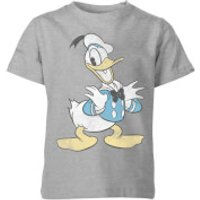 Disney Donald Duck Posing Kids' T-Shirt - Grey - 11-12 Years - Grey - Duck Gifts