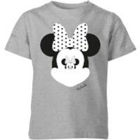 Disney Minnie Mouse Mirror Illusion Kids' T-Shirt - Grey - 11-12 Years - Grey - Mirror Gifts