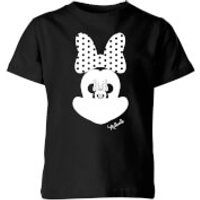 Disney Minnie Mouse Mirror Illusion Kids' T-Shirt - Black - 11-12 Years - Black - Mirror Gifts