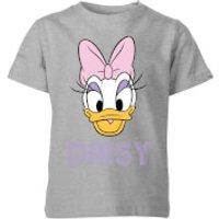 Disney Daisy Face Kids' T-Shirt - Grey - 5-6 Years - Grey - Disney Gifts