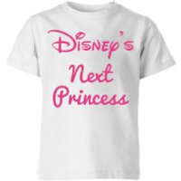 Disney Princess Next Kids' T-Shirt - White - 3-4 Years - White