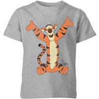 Disney Winnie The Pooh Tigger Classic Kids' T-Shirt - Grey - 11-12 Years - Grey - Tigger Gifts
