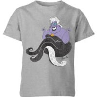 Disney The Little Mermaid Ursula Classic Kids' T-Shirt - Grey - 3-4 Years - Grey - Little Mermaid Gifts