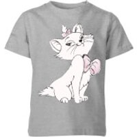 Disney Aristocats Marie Kids' T-Shirt - Grey - 5-6 Years - Grey - Disney Gifts