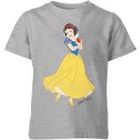 Disney Princess Snow White Classic Kids' T-Shirt - Grey - 11-12 Years - Grey - Disney Princess Gifts
