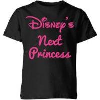 Camiseta Disney Next Princess - Niño - Negro - 5-6 años - Negro