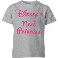 Disney Princess Next Kids' T-Shirt - Grey - 11-12 Years - Grey - Disney Gifts