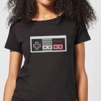 Camiseta Nintendo NES Mando - Mujer - Negro - XXL - Negro