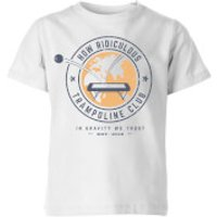 How Ridiculous Trampoline Club Kids' T-Shirt - White - 11-12 Years - White - Tshirt Gifts