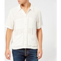 Nudie Jeans Men's Svante Worker Shirt - Off White - S - White