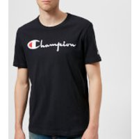Champion Men's Logo T-Shirt - Navy - L