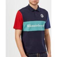 Billionaire Boys Club Men's Cut and Sew Polo Shirt - Blue - L - Blue