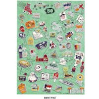 51 Things to Do with the Family Poster - Poster Gifts